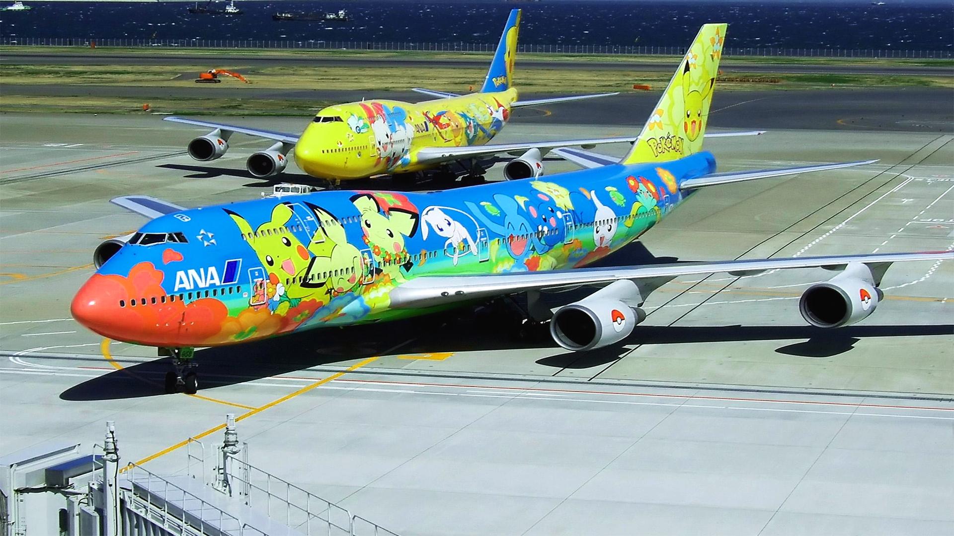 Pokemon Colourful Jets