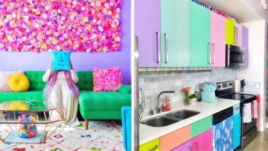 Το πιο χρωματιστό διαμέρισμα στον κόσμο!