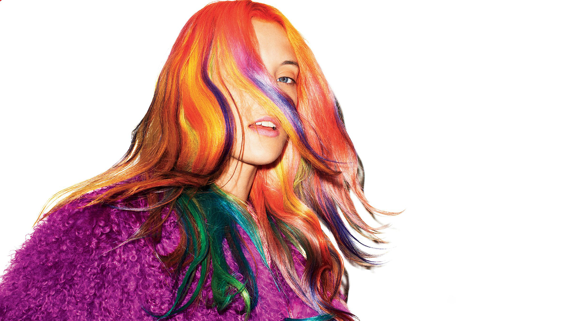 Colour Day Festival Hair