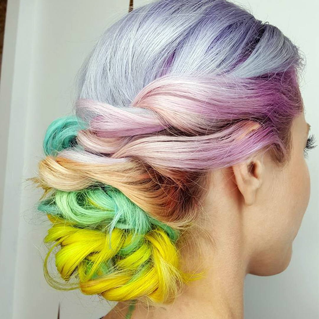 Colour Day Festival Hair