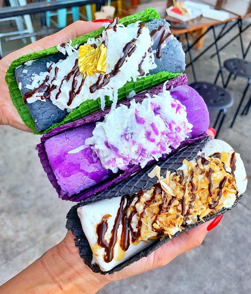 colourful ice cream tacos1