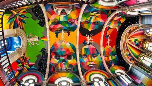 Το πιο χρωματιστό skatepark στον πιο απρόσμενο χώρο!