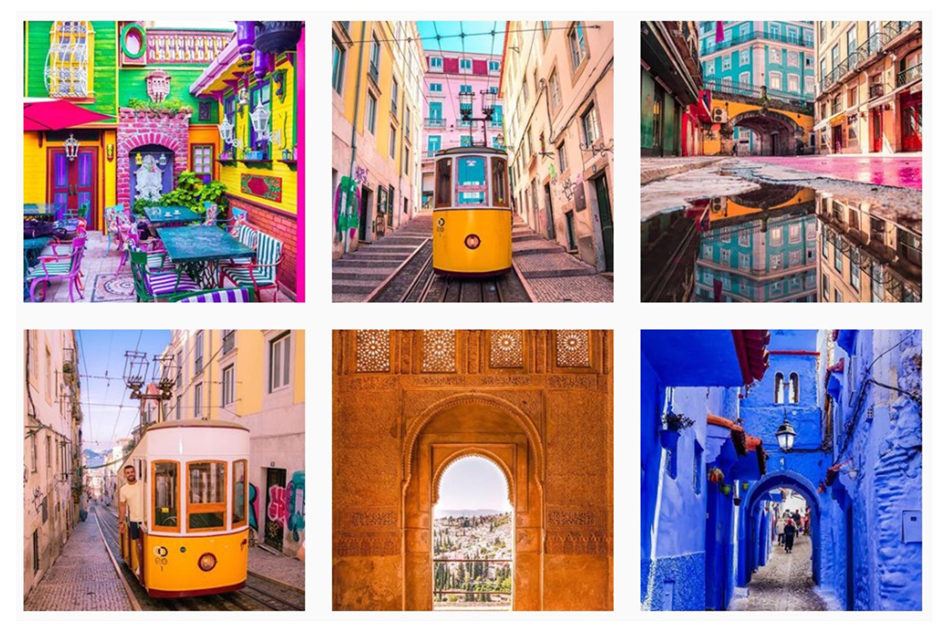 Τα πιο χρωματιστά μέρη στην γη