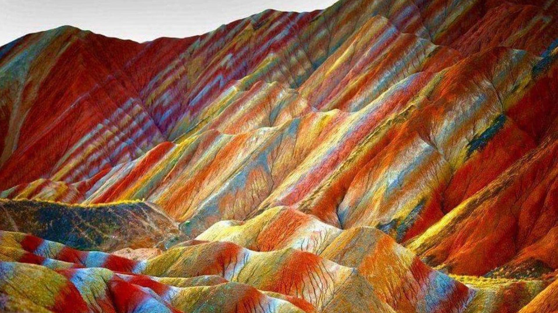 Rainbow Mountains Κίνα