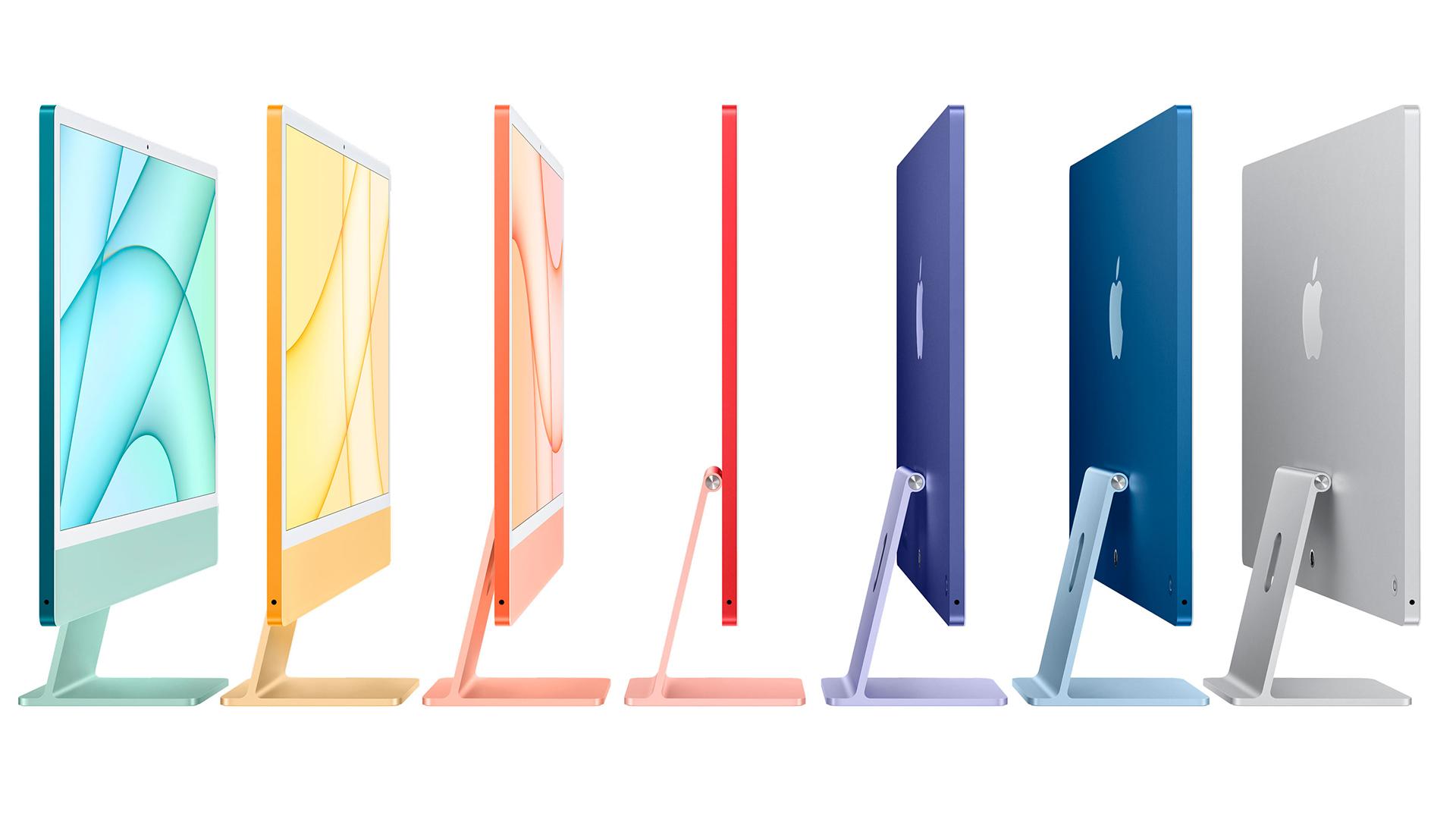 Νέα χρωματιστά iMac
